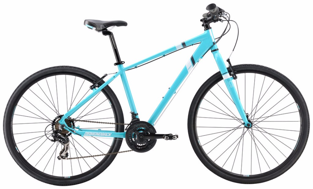 Diamondback Calico ST Women's Blue Dual Sport Bike Review