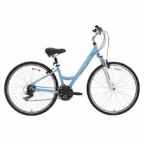 BikeHard LadyCruz Lady's Fit Powder Blue Hybrid Bike Review