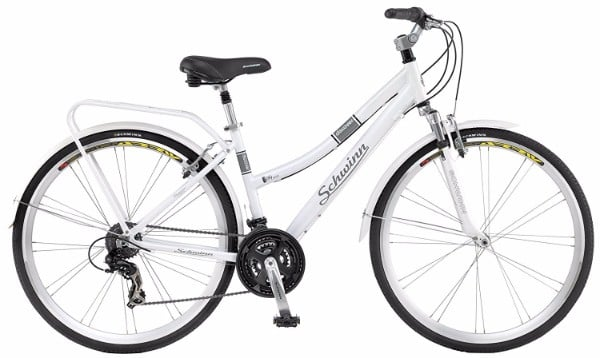 "Schwinn Discover Women's 700c White 28"" Hybrid Bike Review"