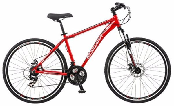 Schwinn GTX 2.0 700c Dual 18-Inch Red Men's Sport Bike Review