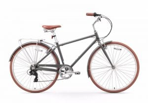 "Sixthreezero Ride in the Park Men's 20"" 700C 7-Speed City Bicycle Review"