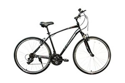 Alton Corsa ZH-300 Aluminum Black Medium Hybrid Bike