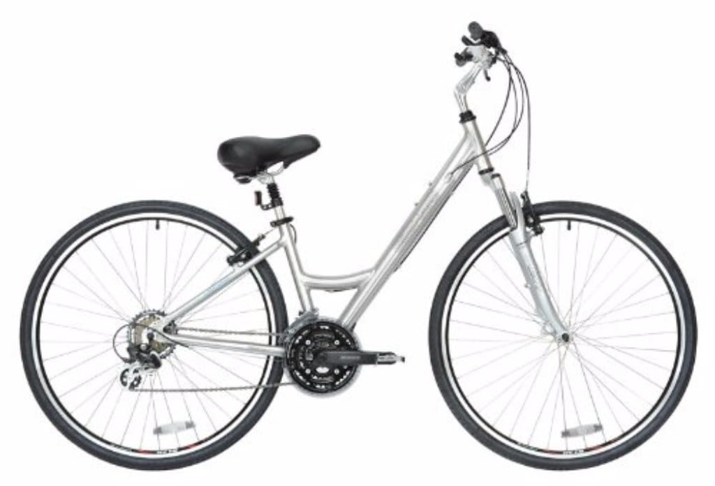 BikeHard LadyCruz Lady's Fit Polished Aluminum Hybrid Bike Review