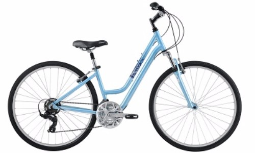 Diamondback 2016 Women's Vital 2 Complete Hybrid Bike Review