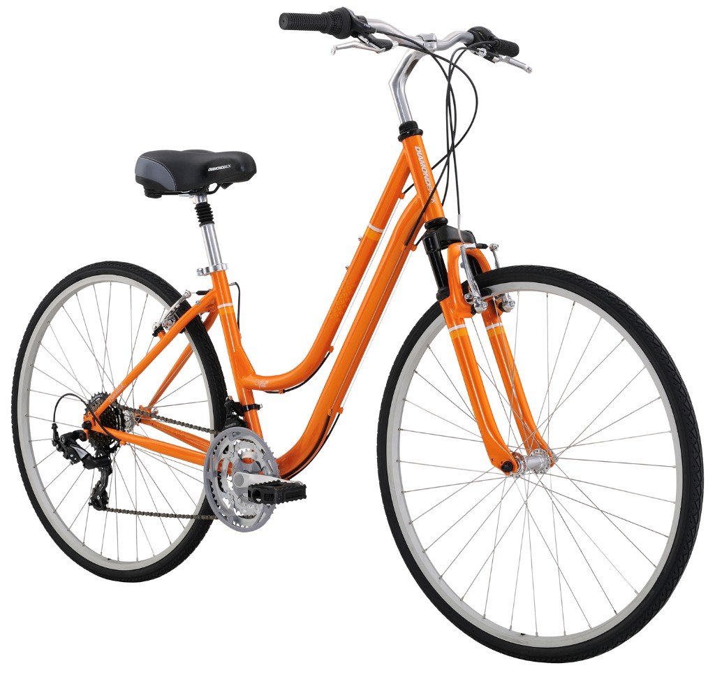 Diamondback Women's Vital 1 Complete Hybrid Bike