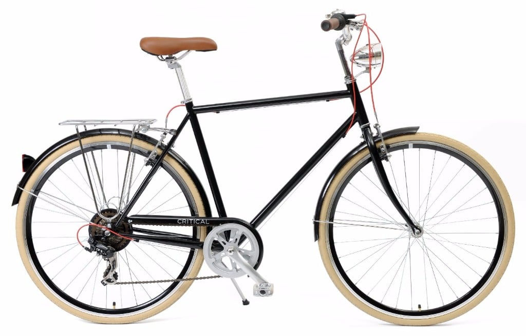 Critical Cycles Diamond Frame 7-Speed Shimano Hybrid Bicycle