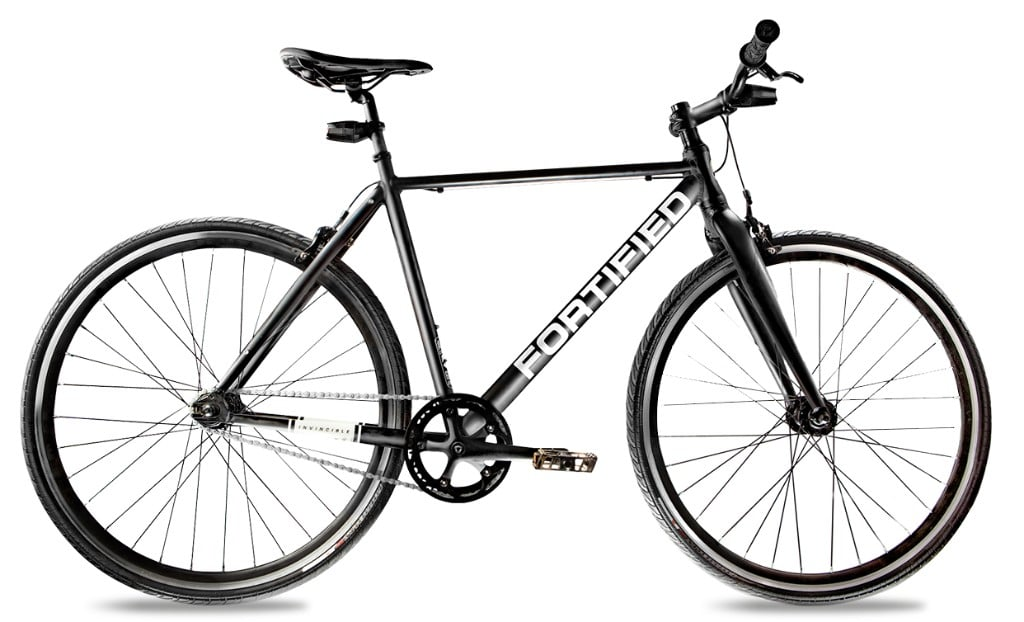 Fortified City Commuter Theft-Resistant Eight Speed Bike