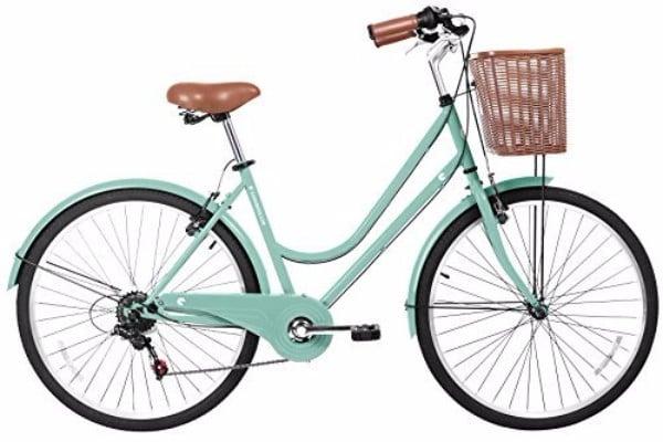 Gama Bikes Women's City Basic 6 Speed Shimano Hybrid Bicycle