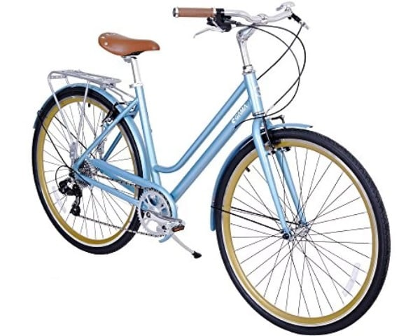 Gama Bikes Women's Metropole 8 Speed Shimano Hybrid Bicycle