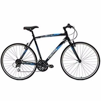 Head Revive 700c wheels Men's Black Hybrid Road Bicycle