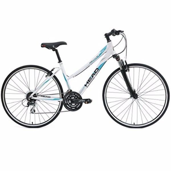Head Revive XSL 700C White 17-Inch Hybrid Road Bicycle