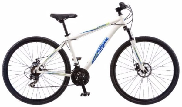 Mongoose Men's Banish 18-Inch 2.0 Hybrid Bike