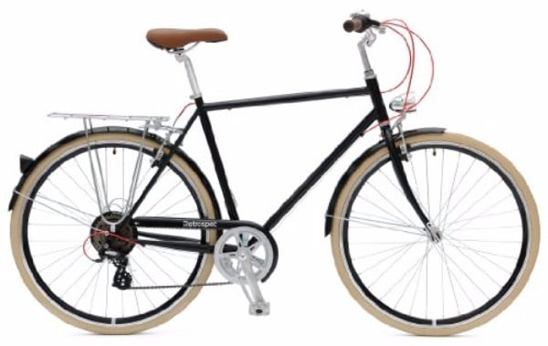 Retrospec Diamond Frame Sid-7 Hybrid Urban Commuter Road Bicycle Review