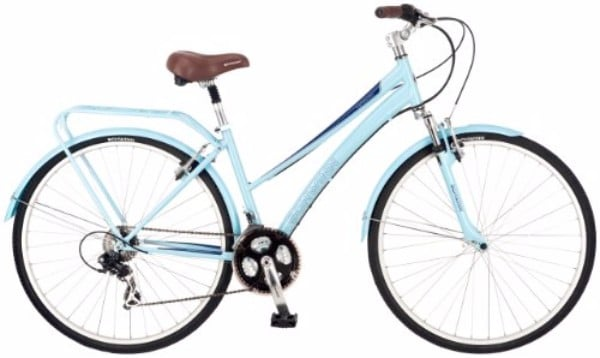 Schwinn Community 700c 16-Inch Blue Women's Hybrid Bicycle