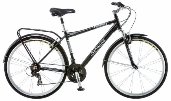 Schwinn Discover Men's 700c Black Hybrid Bike Review
