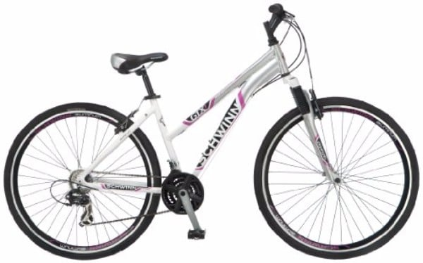 "Schwinn GTX-1 700C White/Silver 16"" Women's Dual Sports Bicycle Review"