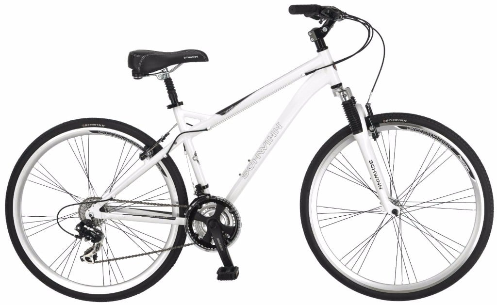 Schwinn Network 3.0 700C White Men's Hybrid Bicycle Review