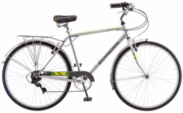 Schwinn Wayfarer 700c Silver Men's Bicycle