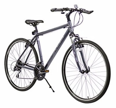 XDS Men's Cross 300 24- Speed 52cm Hybrid Bicycle